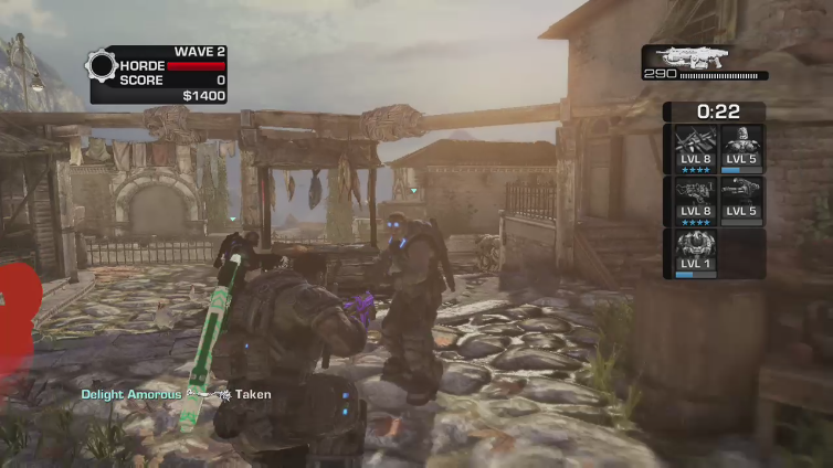 ButterApple321 playing Gears of War 3