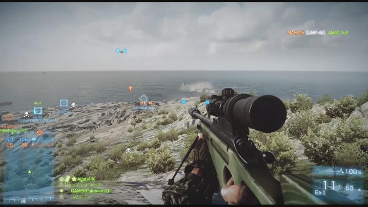 AgonarK playing Battlefield 3